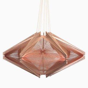 Abat-jour Sputnik #10 Mono Pink par Julie Lansom
