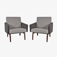 Easy Chairs by Theo Ruth for Artifort, Set of 2