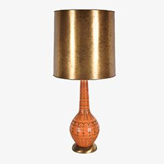 Mid-Century French Ceramic Table Lamp