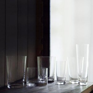 Six Rock Glasses by Deborah Ehrlich