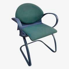 Chaise de Bureau, Modèle 461, par Gerd Lange pour Steelcase, 1993