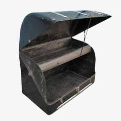 Industrieller Oldsmobile Koferraum aus Stahl