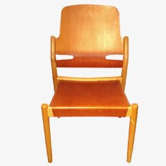 Åkerblomsstolen Chair by G Eklöf for Bodaf, 1950s