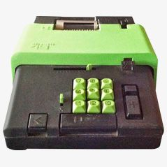 Summa 19 Calculator by Ettore Sottsass for Olivetti, 1970