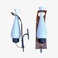 Lampade da parete di Stilnovo, anni '50, set di 2