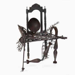 Elegance Throne by Goncalo Mabunda