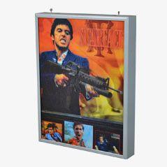Vintage Scarface Promotional Cinema Light Box