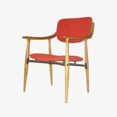 Mid Century Wooden Armchair