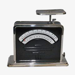 Vintage Letter Scale by Jacob Maul