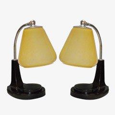 Bedside Lamps Tastlicht by Marianne Brandt for GMF, Set of 2