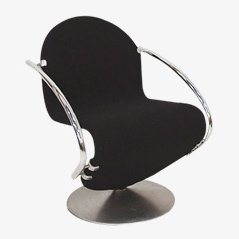 Lounge Chair 1-2-3 by Verner Panton for Fritz Hansen, 1970s