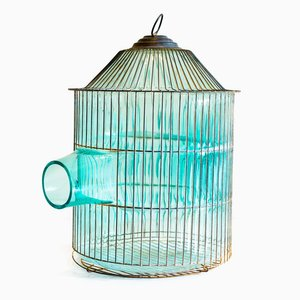 Out of the Cage (Turquoise Pagoda) by Gala Fernández