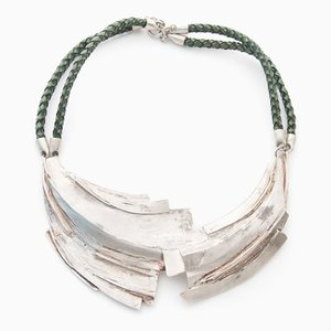 Fused Plates Necklace by Tabor & Villalobos