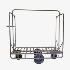 Belgian Metal Factory Trolley