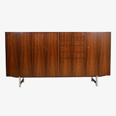 Rosewood Highboard by Fristho, 1960s