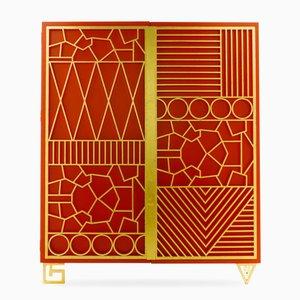 Geometric Cabinet by Elizabeth Garouste