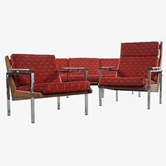 Set di sofà Lotus di Rob Parry per Gelderland, anni '60