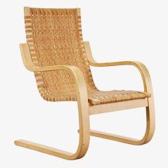 Ausladender Armsessel von Alvar Aalto, ca. 1970
