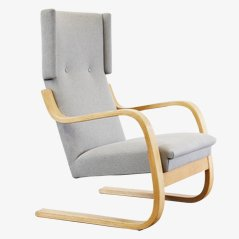 Alvar aalto furniture chairs tables glassware and more for Alvar aalto chaise lounge