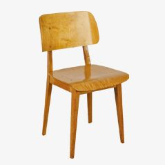 Sperrholz Stuhl von Cees Braakman für Pastoe