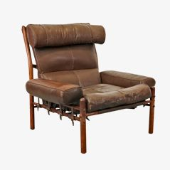 Mid century hunting chair by uno sten christiansson for for Sessel ystad
