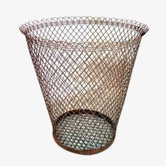 Industrial Trash Basket, 1950s