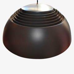 Mid Century Deckenlampe von Arne Jacobsen für Louis Poulsen, 1950er