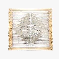 Glas Deckenleuchte von Venini