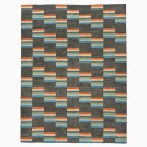 Black & Multi Modernist Carpet
