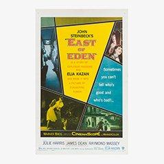 Vintage 'East of Eden' Film Poster, 1955