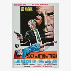 Vintage 'Point Blank' Film Poster, 1967