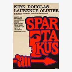 Vintage 'Spartacus' Film Poster, 1970