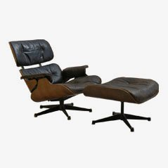 670 Lounger & 671 Ottoman by Charles and Ray Eames for Hille, 1959
