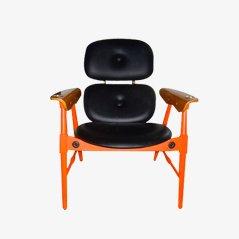 Mid-Century Florentine Chair, 1960s