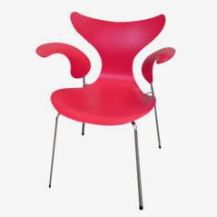 Lily 3208 Esszimmerstuhl von Arne Jacobsen für Fritz Hansen