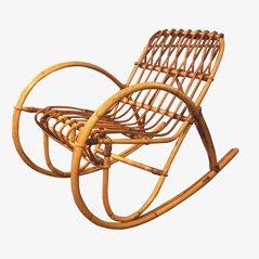 Chaise à Bascule d'Enfant par Franco Albini, 1950s