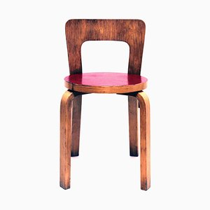 Vintage Model 65 Chair by Alvar Aalto for Artek