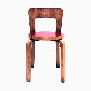 Vintage Modell 65 Stuhl von Alvar Aalto für Artek