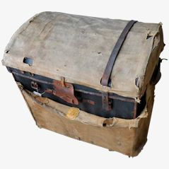 Antique Trunk by Moynat