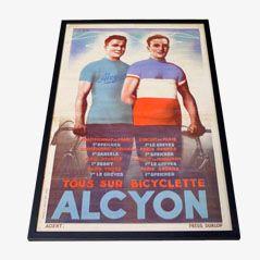 Poster de Cyclisme Vintage de Alcyon