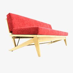 Reclining Sofa Daybed from Domus, 1950s