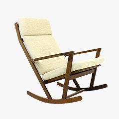 Rocking Chair by Poul Volther for Frem Rojle, 1960s