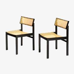 Modell 3100 Esszimmerstühle von Willy Guhl für Dietiker, 1970er, 2er Set