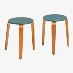 Vintage Stools from Horgenglarus, 1960s, Set of 2