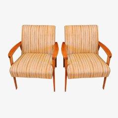 Mid Century Italian Lounge Chair, 1950s, Set of 2