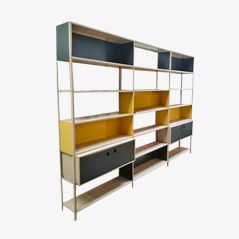 Industrial Wall Unit & Bookcase by Friso Kramer for Asmeta