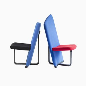 Postmodern Dining Chairs, Set of 2