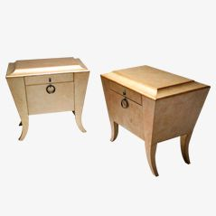 Night Stands, 1980s, Set of 2