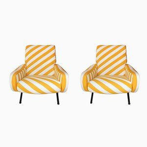 Lady Armchairs by Marco Zanuso for Arflex, 1960s, Set of 2