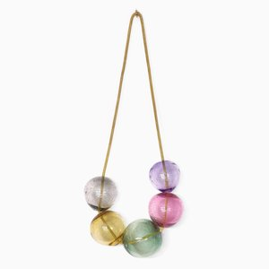 Suspension Murale Small Pink Bubbles par LaLouL / Corinne van Havre